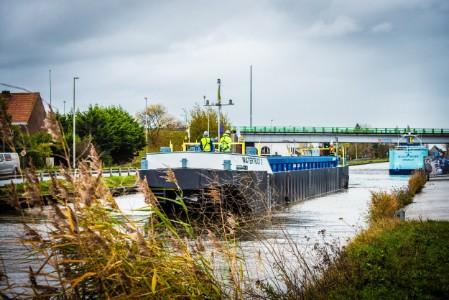 Ship in Dam