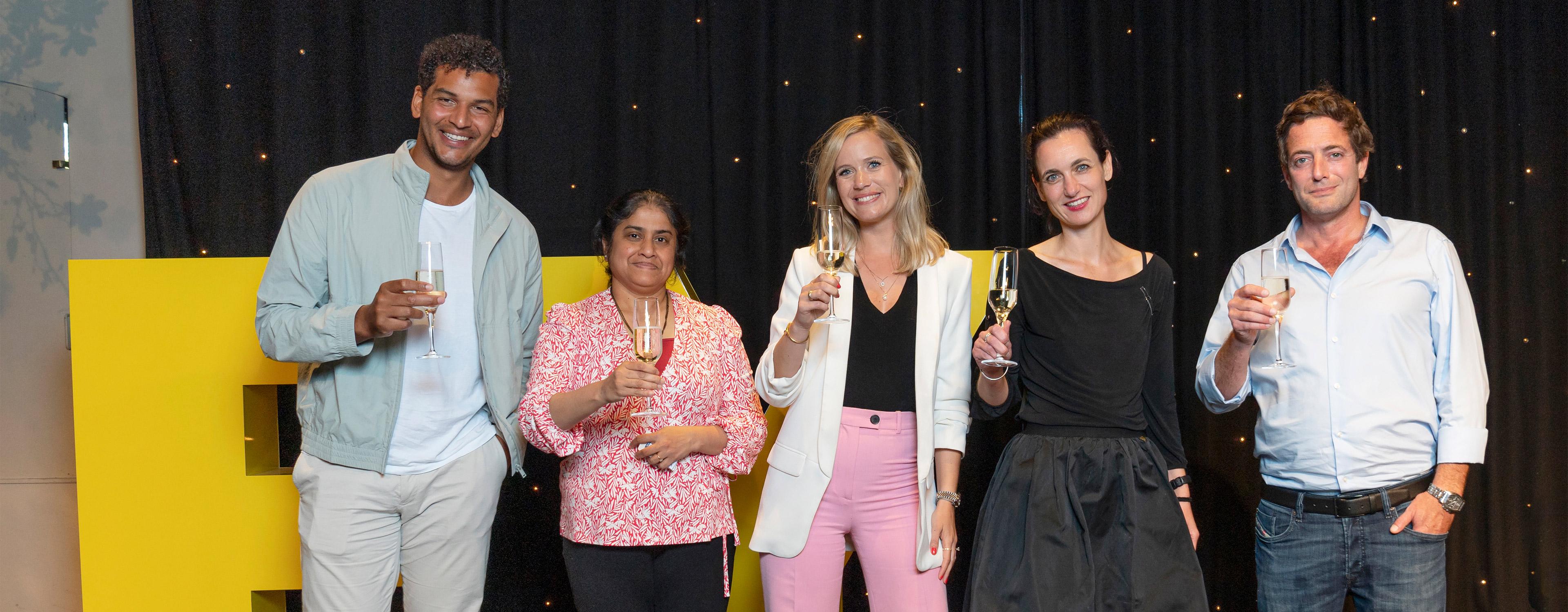 EOY 21 - Finalisten in de categorie EY Emerging Entrepreneur Of The Year 2021