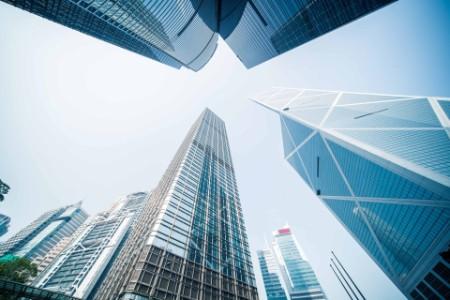 Bilde av skyskrapere i New York