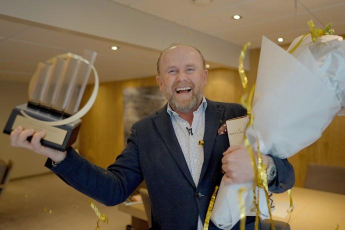 Han er Norges fremste vekstskaper i 2020