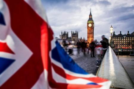 Union Jack og Big Ben