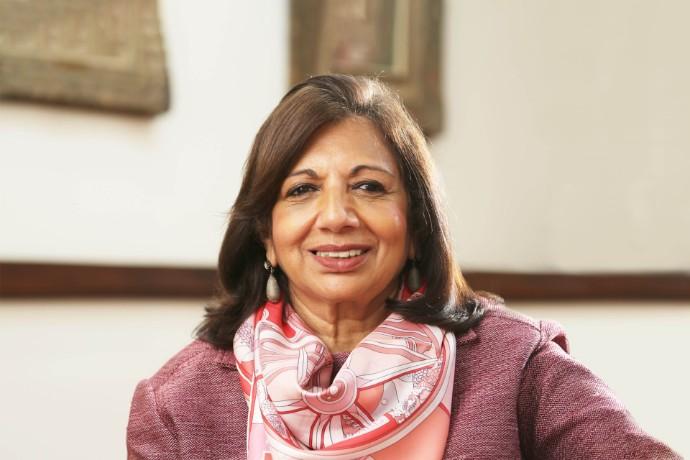 Dr Kiran Mazumdar-Shaw z Indii zwyciężczynią światowego konkursu EY Przedsiębiorca Roku 2020