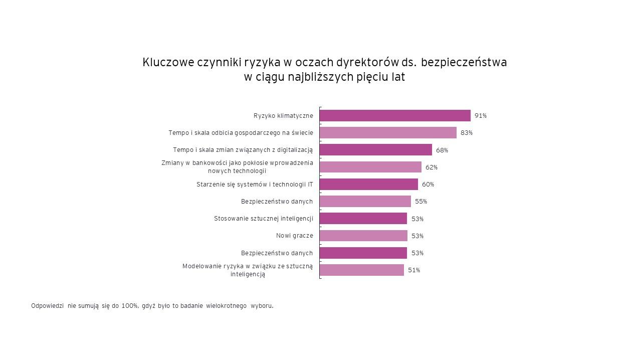 Kluczowe czynniki ryzyka w oczach dyrektorów dw. bezpieczeństwa