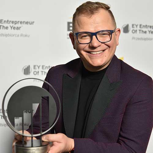 Igor Klaja, założyciel firmy OTCF zwycięzcą 18. edycji konkursu EY Przedsiębiorca Roku