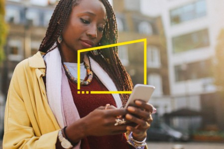 EY afrinca female texting