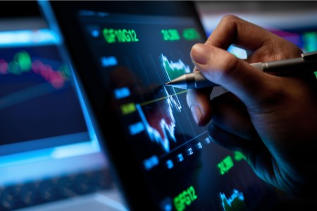 Analyzing the graphical data in the digital screen