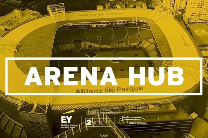 Arena Hub é inaugurado em evento 100% digital