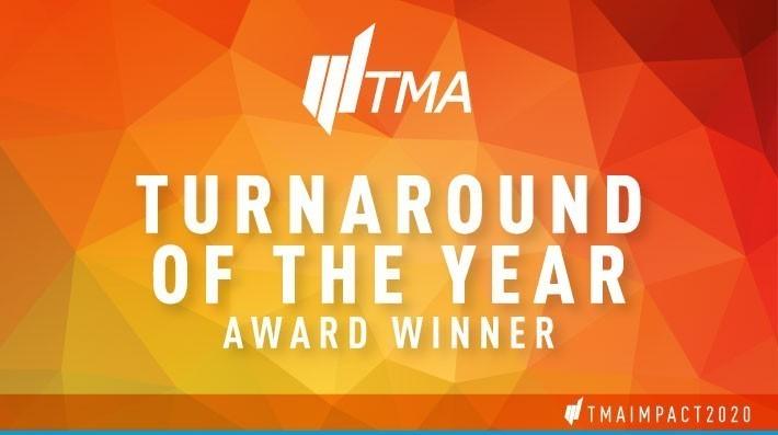 TMA Turnaround of the Year - Award winning
