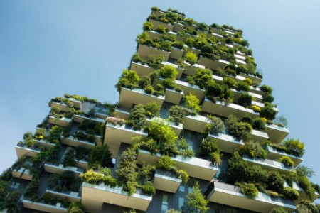 EY eco-friendly green building photograph