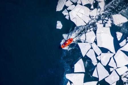 EOY upstop boat ice