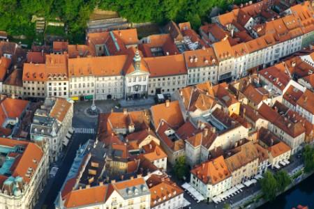 Ljubljana iz zraka