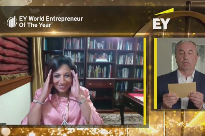 Hon är världens främsta entreprenör - grundat Asiens största bioteknikföretag