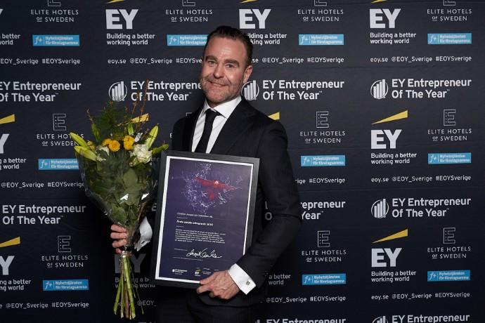 Årets sociala entreprenör är Christian Jansson på Godsinlösen