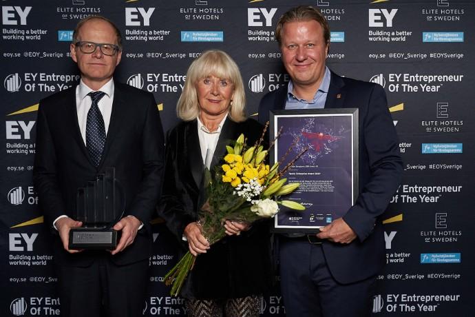 Entreprenörsutmärkelsen Family Enterprise till SIBA-familjen Bengtsson