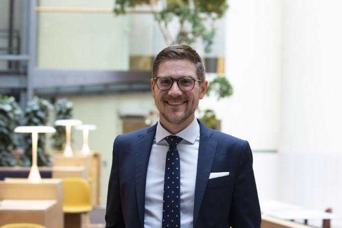 EY:s Andreas Bliersbach med på prestigefylld lista