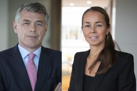 Anna Svanberg och Hamish Mabon