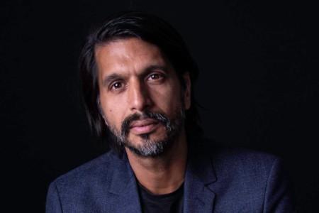 Photographic portrait of Qaisar Mahmood