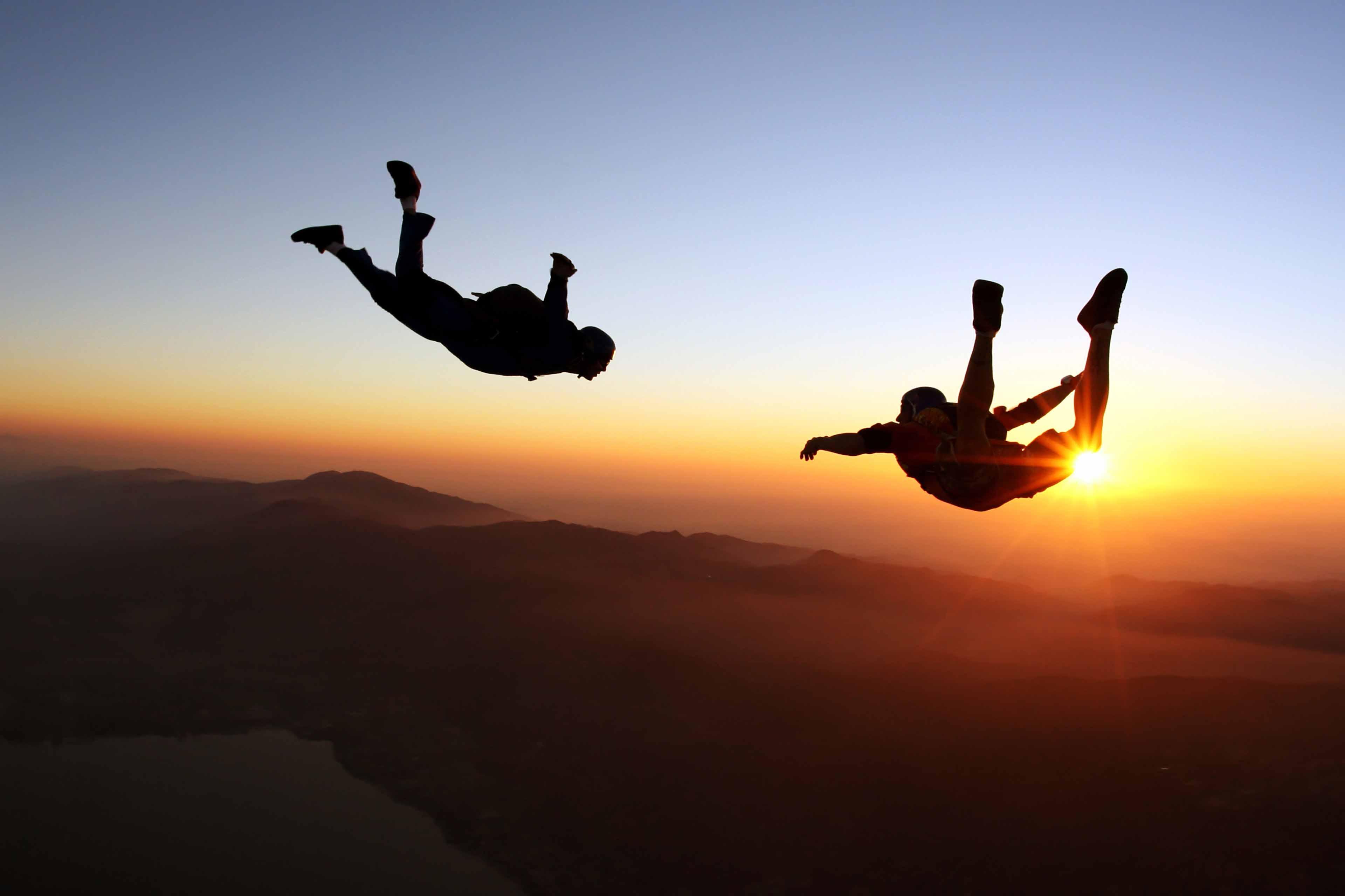 Risk, fallskärmshoppare