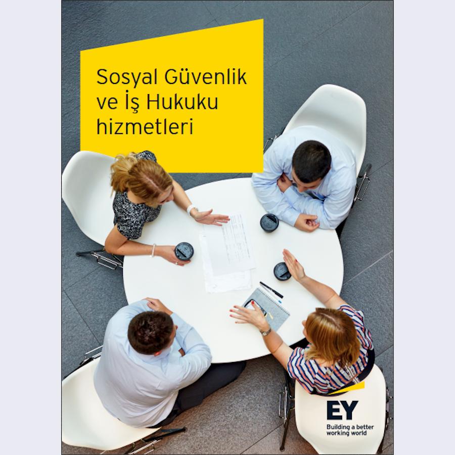 Sosyal Güvenlik ve İş Hukuku Hizmetleri broşürü kapak fotoğrafı