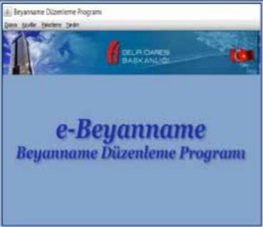 Görsel: E-Beyanname