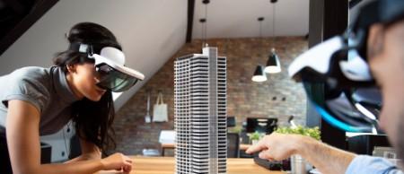 design the building.