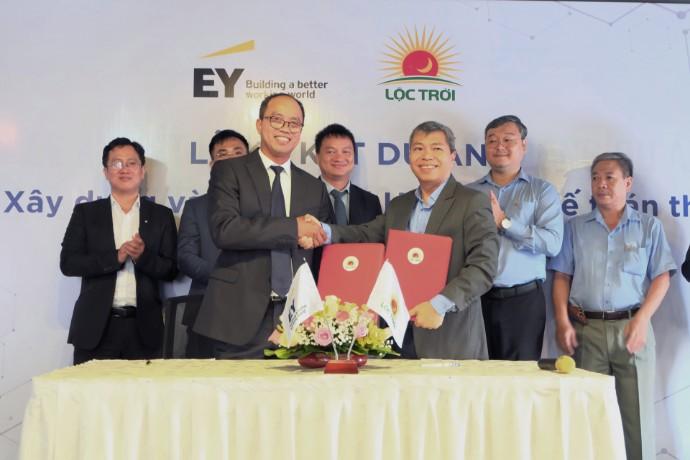 EY Việt Nam phối hợp với Tập đoàn Lộc Trời xây dựng và triển khai hệ thống Chuẩn mực Kế toán Quốc tế