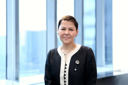 Effie Xin, Financial Services Managing Partner of EY in Greater China and FinTech and Innovation Financial Services Managing Partner of EY in Asia-Pacific