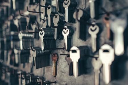 滿牆的鑰匙串