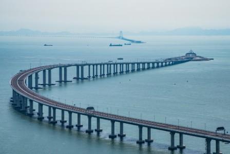 連接珠海與香港和澳門的橋樑