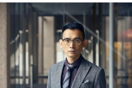 Photographic portrait of Calvin Chen